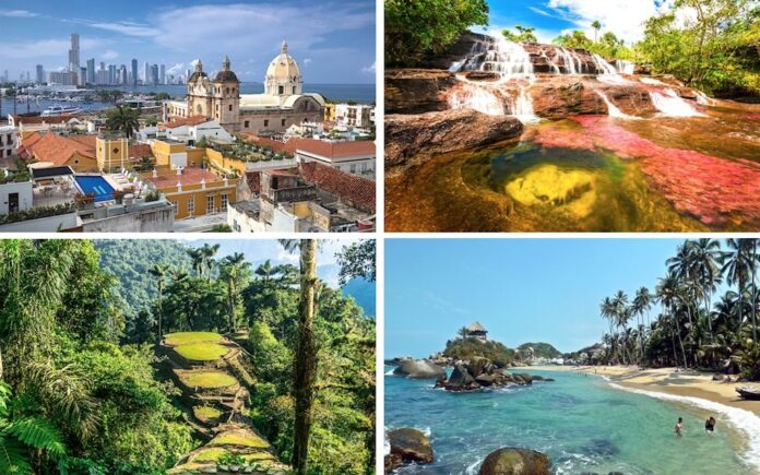 tourist places to visit in Colombia